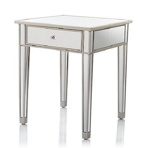 Mirrored Nightstand Ebay