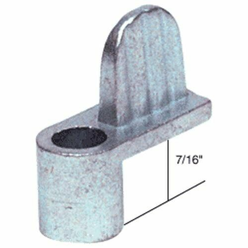 "CRL Zinc 7/16"" Die Cast Window Screen Clip - Bulk WSC317"