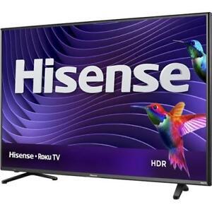 Télévision DEL 50'' 50R6107 4K UHD HDR ROKU Smart WI-FI Hisense