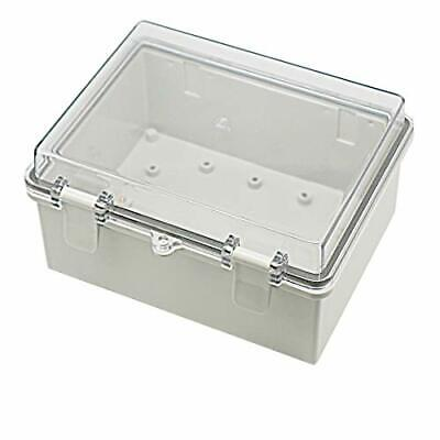 Plastic Dustproof Waterproof Box IP65 Electrical Boxes Clear Transparent Cover