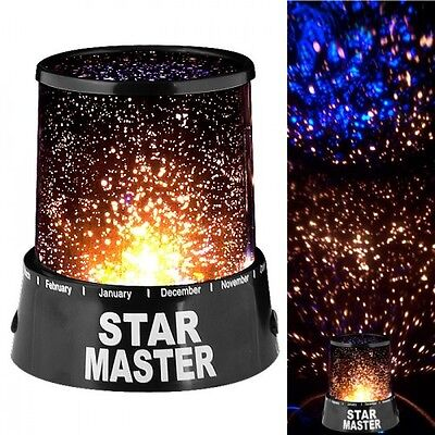 Star Master LED Color Changing Star Projector - Relaxing Bedtime Stargazing