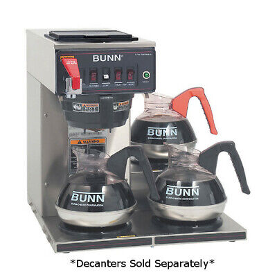 Bunn 12950.0212 Cwtf15-3 Automatic 3.9 Gallons Per Hour Coffee Brewer