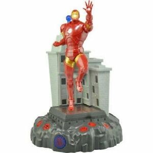 New Marvel Avengers Talking Room Light Action Hero Iron Man