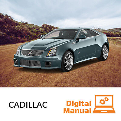 Cadillac   Service And Repair Manual 30 Day Online Access