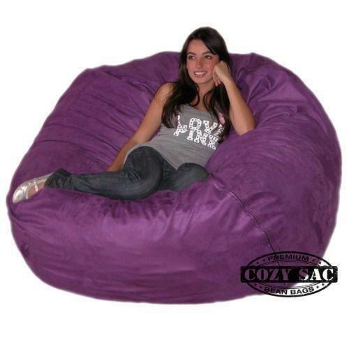 Purple Bean Bag Chair Ebay