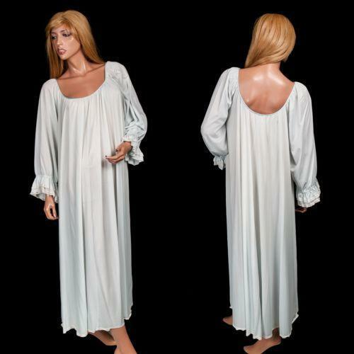 White Cotton Nightgowns Old Fashioned