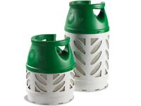 gas bottle for a caravan or bbq or camper van empty ideal spare i have both sizes