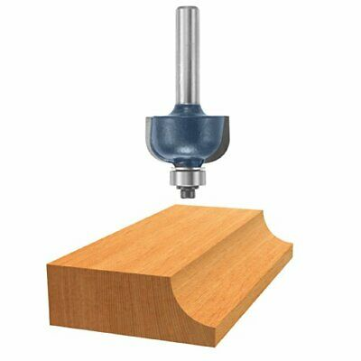 Bosch 85204m Router Bit Carbide Tip 316r Cove With Ball Bearing 14 Shank