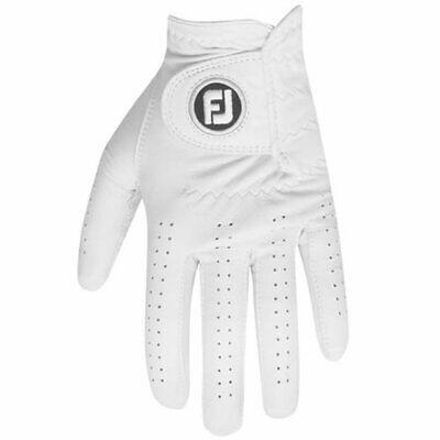 FOOTJOY CABRETTASOF GOLF GLOVE - Right or Left Handed Golfer / White