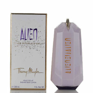 Alien Radiant Body Lotion by Thierry Mugler 7.0 / 7 oz / 200 ml New In Box