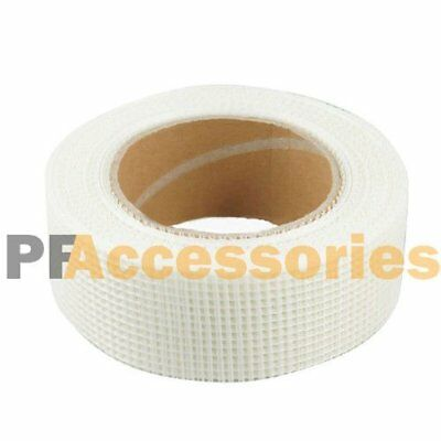 65 Ft X 2 Self Adhesive Fiberglass Cloth Tape White Mesh Roll For Drywall Repai