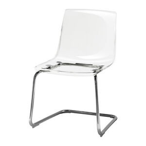 Brand New Ikea transparent TOBIAS  Chair