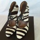 Zebra High (3 in. to 4.5 in.) Heels for Women