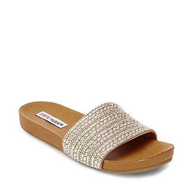 buy cute cheap detailed images Steve Madden Womens Dazzle Flat Sandal- Pick SZ/Color. | eBay
