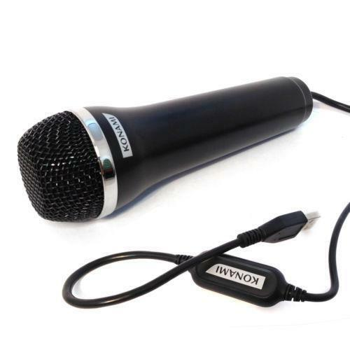 wii karaoke microphone video games consoles ebay. Black Bedroom Furniture Sets. Home Design Ideas