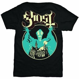 GHOST-Opus-Eponymous-T-shirt-Black-Mens-New-Official