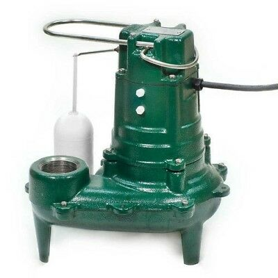 Zoeller 267-0001 Model M267 Waste-Mate Automatic Cast Iron Sewage Pump - 115 V,
