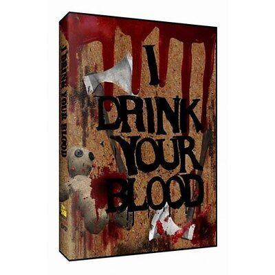 I Drink Your Blood  Dvd  2006   Aka Phobia Richard Bowler Satanist Hippies 1970