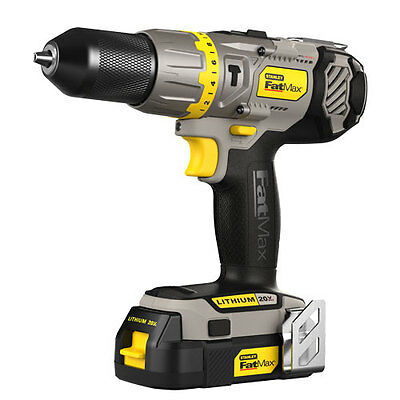 "Stanley 20V Max 1/2"" Lithium Ion Hammer Drill Kit"