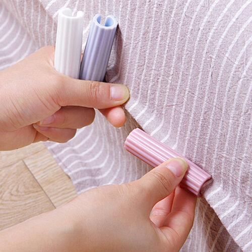 Utrax Bed Sheet Grippers Holder Clip 8 Pcs Mattress Cover Bl