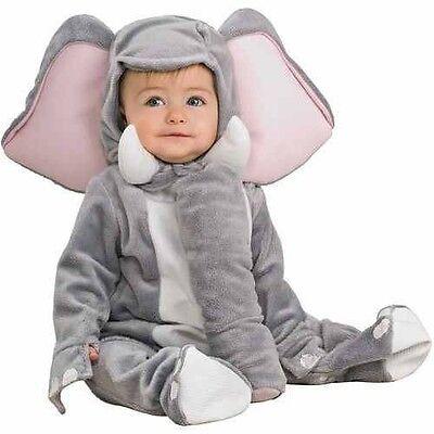 NEW~LAST ONE~BABY GRAY Elephant Costume SZ: Infant 6-12 MONTHS COMPLETE COSTUME - Baby Elephant Costume