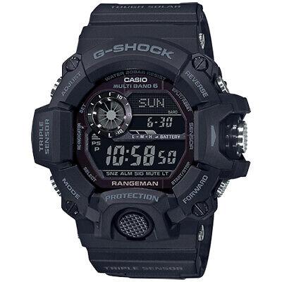 Casio G-Shock Rangeman Solar Reloj Hombre Triple Sensor 20 ATM GW-9400-1BER