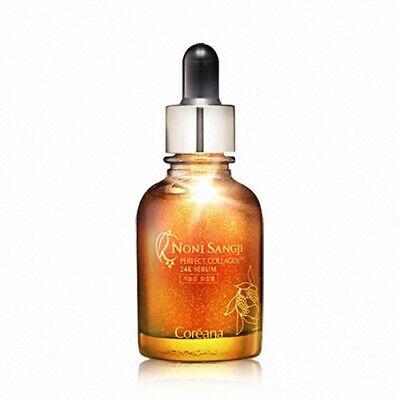 Coreana Noni Sangji Perfect Collagen 24K Serum 30ml Anti Aging Moisture K beauty