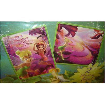 Tinkerbell Disney Fairy Fairies Reversible 2 in 1 Fleece Throw Blanket NEW (Disney Tinkerbell Fleece Blanket)