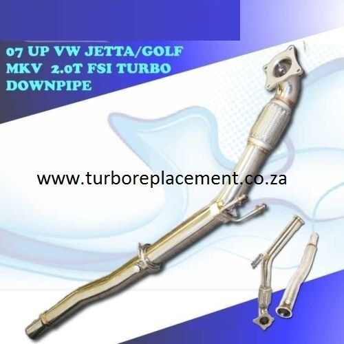 VW Golf 5  / Golf 6 Gti 2.0 Tfsi Down pipes (031-701 1573) - Turbo Replacement - Turbocharger Parts
