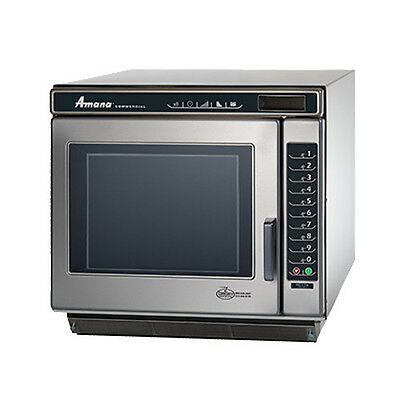 Amana Rc22s2 Commercial Microwave Oven With Touch Control And Braille Touch Pad