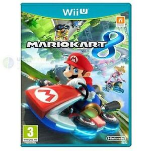 nintendo mario kart 8 pour jeu de wii u console bran neuf ru pal ebay. Black Bedroom Furniture Sets. Home Design Ideas