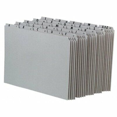 Pendaflex Recycled Top Tab File Guides Alpha 15 Tab Manila Letter 25set