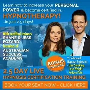 Massively Discounted Tickets: Change Lives With Hypnosis Adelaide CBD Adelaide City Preview