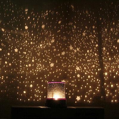 Colorful Star Sky LED Starry Night Light Lamp Random Color Projector Lamp light