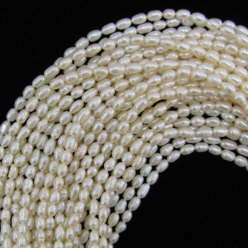 Freshwater Rice Pearls Ebay