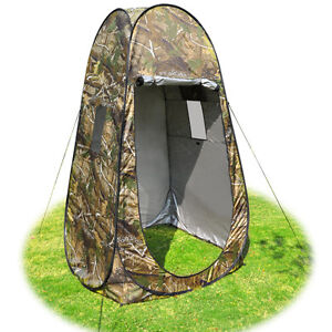 Portable Shower Changing Tent Camping Toilet Pop Up Room Privacy Outdoor w/ Bag
