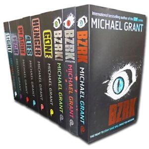 Michael Grant Collection 9 Books Set - Includes the Gone Series and BZRK Series