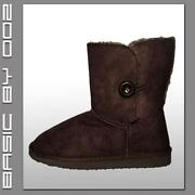 Damen Schuhe Winterstiefel Gefüttert Stiefel Boots Stiefeletten Keilabsatz