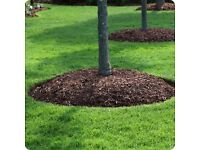 Composted woodchip mulch/bark chippings