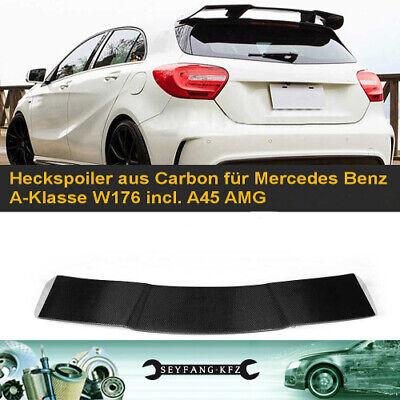 Heckspoiler aus Carbon für Mercedes Benz A-Klasse W176 + A45 AMG