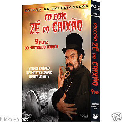 DVD Ze do Caixao Zé do Caixão Collection / Coffin Joe Collection - Region FREE comprar usado  Brazil