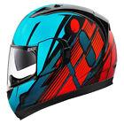 Icon Blue Full Face Helmets