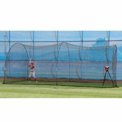 Crusher Pitching Machine & PowerAlley Batting Cage