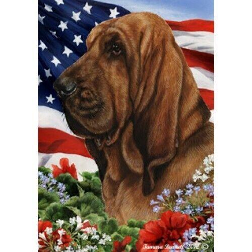 Patriotic (1) House Flag - Bloodhound 16073