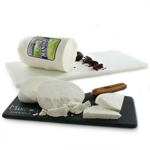 Manouri Greek Cheese DOP - Whole Form (3.5 pound)