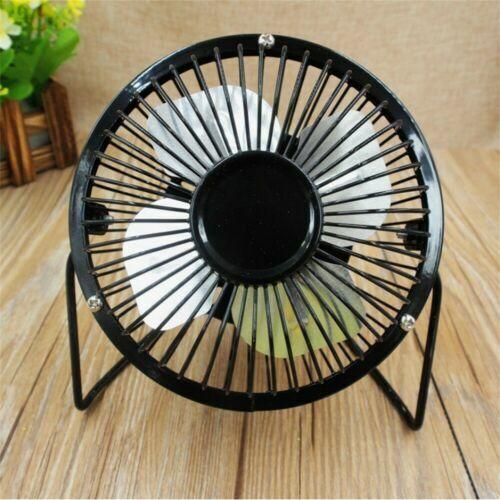 """4""""USB Desk Table Fan Mini Personal Small Air Circulator Quiet Portable Retro Fan"""