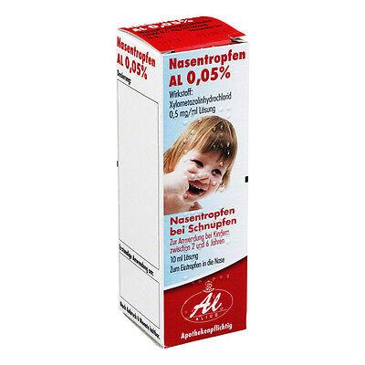 NASENTROPFEN AL 0,05% 10 ml PZN: 3929297 (12,50€/100 ml)
