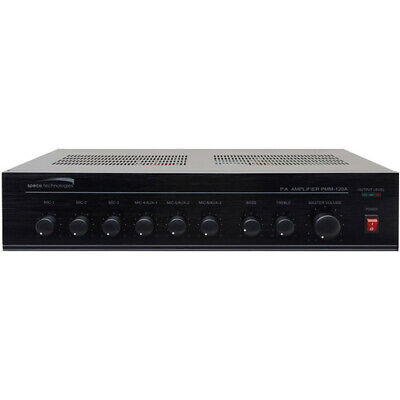 Speco Technologies Contractor 60W RMS Power Mixer Amplifier PMM60A