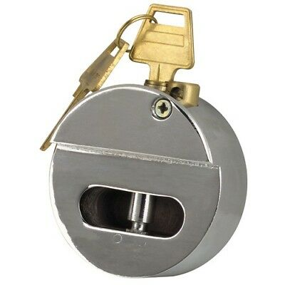 Internal Shackle Trailer Door Lock Padlock Hockey Puck