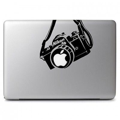 "Nikon Camera for Apple Macbook Air Pro 11 13 15 17"" Laptop Vinyl Decal Sticker"